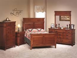 bedroom amish bedroom furniture luxury shaker style cherry wood