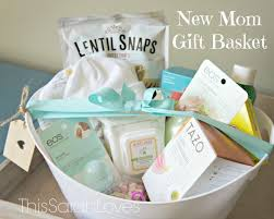 New Mom Care Package New Mom Gift Basket Thissarahloves Ida U0027s Baby Box Pinterest