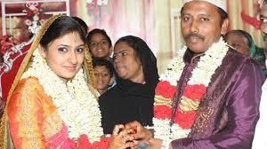 actress monica m g rahima simple muslim wedding pics youtube
