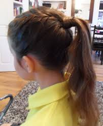 Little Girls Ponytail Hairstyles by Easy Ponytail Hairstyle For Kids Easy Ponytail Hairstyles For