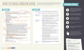 Resumes Of Job Seekers by How To Make A Résumé Shine Visual Ly