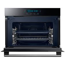 Glass In Toaster Oven Buy Samsung Nq50h5537kb Built In Combination Microwave Oven Black