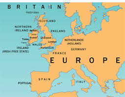 euope map map world europe major tourist attractions maps