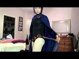Teen Titans Halloween Costumes Cosplay Tutorial Raven Teen Titans Finished Cosplay Walkthrough