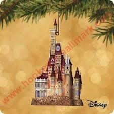 2002 castle in the forest disney s and the beast hallmark