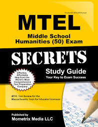 mtel middle humanities 50 exam study guide http www mo