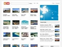 b tube video blogger template free download xml blogger themes