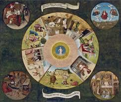 seven deadly sins artist hieronymus bosch the seven deadly sins and the four