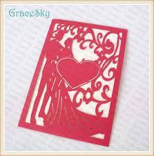 sle of wedding program diy heart shaped wedding invitations wedding invitation ideas