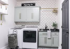 Laundry Room With Sink Diy Laundry Room Makeover Sincerely D