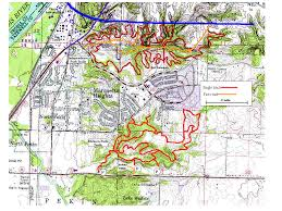 Map Of Peoria Illinois by Cambr Chicago Area Mountain Bikers