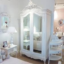Shabby Chic White Bedroom Furniture Bedroom Bedroom Furniture Using Corner White Chic Wardrobe