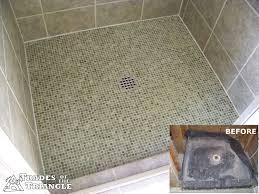 tile shower pans home tiles