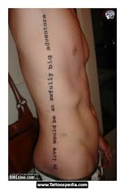 Quote Thigh - quote tattoos on thigh photos pictures and sketches