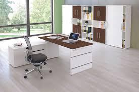 Schreibtisch Aus Glas Form 4 Schreibtisch Mit Sideboard 180x80cm