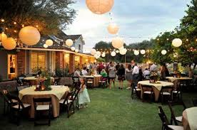 Wedding Ideas For Backyard Mesmerizing Backyard Wedding Reception Decorations 84 About Ideas