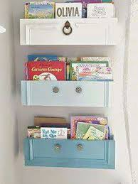 How To Make Wall Shelves Using Drawer Fronts Make Great Wall Shelves To Hold Children Books