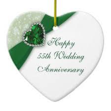 55th wedding anniversary 55th wedding anniversary ornaments keepsake ornaments zazzle