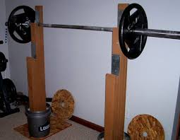 Squat Bench Rack For Sale Option If You Can U0027t Afford A Real Squat Rack Home Crossfit Gym