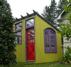 garden decor amazing garden design ideas with green single shed