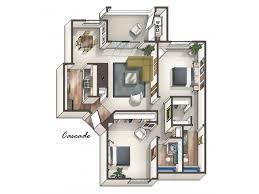 Cascade Floor Plan 2 Bed 2 Bath Apartment In Phoenix Az Vaseo