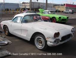 1961 corvette project for sale proteam corvettes 1961 181x
