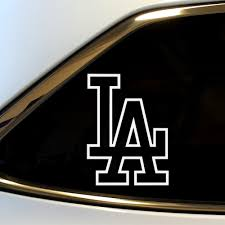 forester decal la los angeles vinyl decal sticker graphic los angeles dodgers