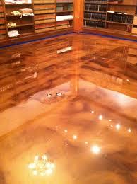 epoxy floor diy designer bat floor after failed diy modern seattle
