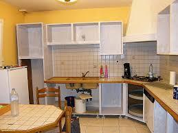 cuisine avant apr鑚 relooker cuisine rustique avant après unique relooker un meuble