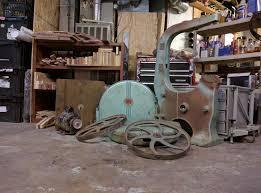 walker turner bandsaw restoration 22 659