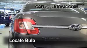 2014 ford taurus tail light brake light change 2010 2017 ford taurus 2011 ford taurus sel 3 5l v6