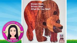 brown bear what do you see by eric carle stories for kids