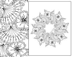 henna coloring pages floral mandala coloring page coloring page digital