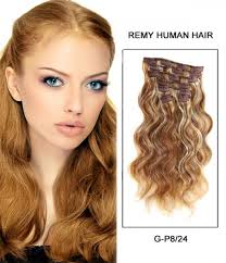 remy human hair extensions 18 7 pieces wave clip in remy human hair extension e71805