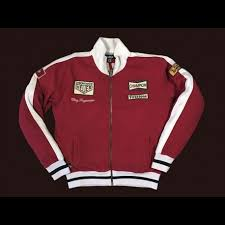 jacket clay regazzoni red vest for men selection rs