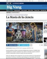 Challenge La Vanguardia La Masia De La Ciencia La Vanguardia Specs Synthetic