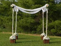 how to build a chuppah venue our wedding