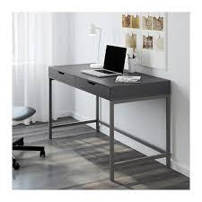 ikea scrivanie pc alex desk white bureau gris bureau et profondeur