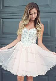 sweetheart cute a line sweetheart neckline tulle short prom