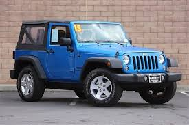 blue jeep 50 best used jeep wrangler for sale savings from 2 909