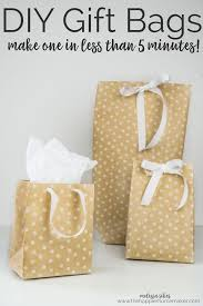 gift wrap paper diy gift bags from wrapping paper the happier homemaker