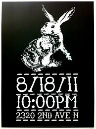 rabbit poster white rabbit poster spec ed the great book of