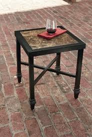 la z boy outdoor charlotte side table