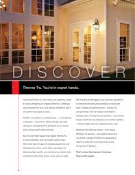 Patio Doors With Venting Sidelites by Entry U0026 Patio Doors 2014 By Therma Tru