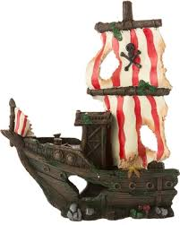 here s a great price on top fin sunken pirate ship aquarium ornament