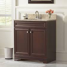 Home Depot Decorators Collection Home Decorators Collection Madeline 24 In Vanity In Chestnut With