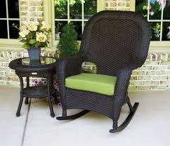 Patio Rocking Chairs Wood Outdoor Wicker Rocker Chair Wonderful Paint Rocking Patio