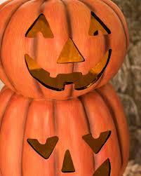 Halloween Pathway Lights Led Carved Pumpkins Balsam Hill