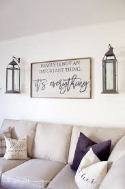 Family Room Decor One Room Challenge Week Six Farmhouse Style Family Room Reveal
