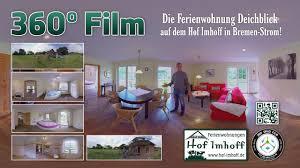 Wohnzimmer In Bremen 4k 360 Film Ferienwohnung Deichblick Hof Imhoff In Bremen